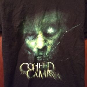 Coheed and Cambria Shirts - COHEED & CAMBRIA T-SHIRT 👕 Rock Music Band NEW